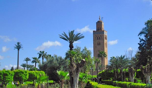 La Mezquita Kutubia en Marrakech