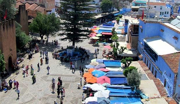 Dónde comer en Chaouen (plaza Uta el-Hammam)