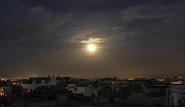 la luna en el calendario de Marruecos