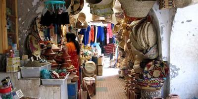 regateo en Marruecos en bazar