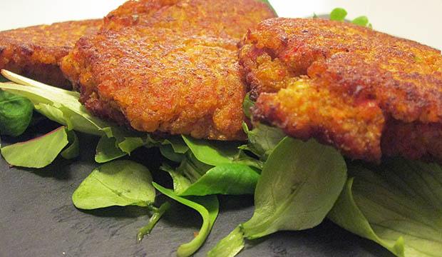 el falafel de lentejas es típico en la comida marroquí
