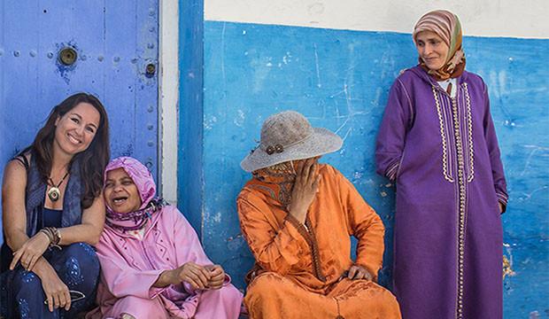 Ana Morales de Cuaderno de Viajes con mujeres marroquíes