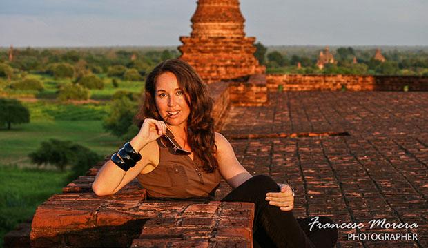 Ana Morales en Bagan