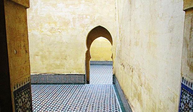 El mausoleo de Mausoleo de Moulay Ismail es otro lugar que visitar en Mequinez