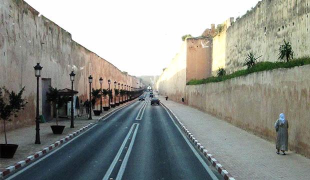 Las murallas que visitar en Meknès