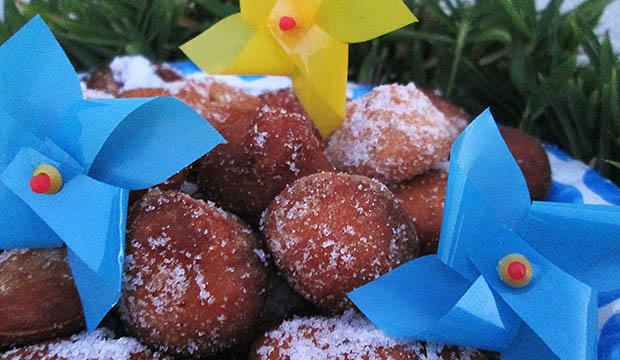 los buñuelos son uno de los platos típicos de Marruecos