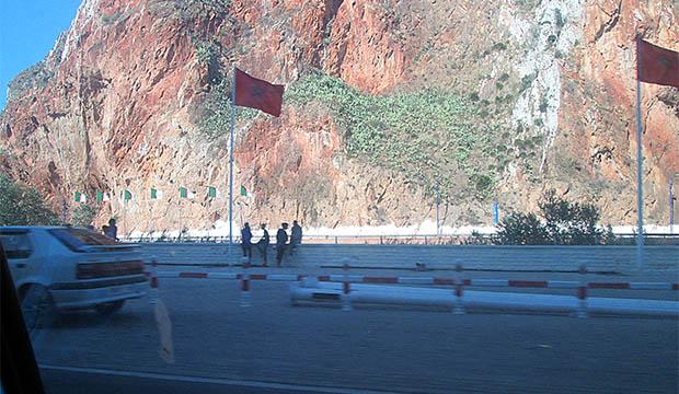 frontera de Argelia con Berkane
