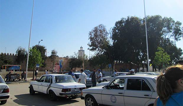 parada de taxis en Berkane