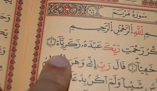 El árabe marroquí se lee de derecha a izquierda