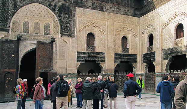 La madraza de Bou Inania, la escuela coránica que ver en Fez
