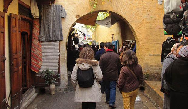 La medina que visitar en Fez