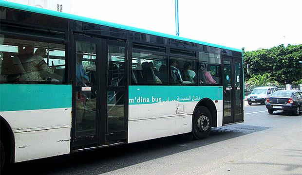 El autobús es un transporte en Marruecos muy utilizado por sus ciudadanos