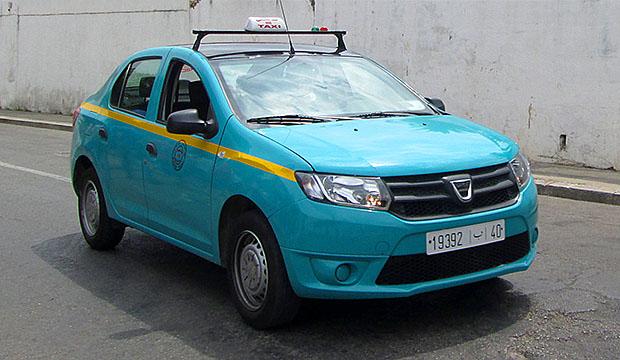 El petit taxi es el transporte en Marruecos ideal para desplazarse en ciudad