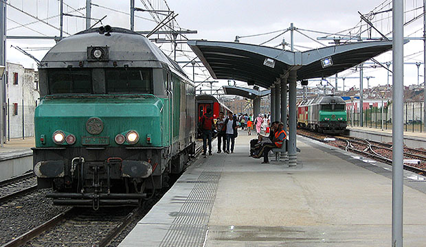 Moverse por Marruecos en tren es una opción muy económica