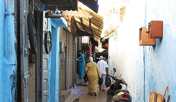 Recorrer la medina es algo fundamental que hacer en Rabat