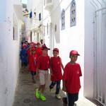 Asilah. Excursión escolar por la medina