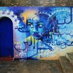 Asilah. Mural de El Niño de las Pinturas