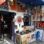 Asilah. Tienda de artesanía