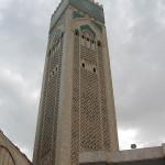 Gran Mezquita Hassan II. Minarete