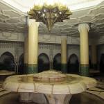 Gran Mezquita Hassan II. Sala de abluciones