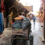 Marrakech. Calle del zoco