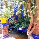 Marrakech. Jardines Majorelle