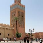 Marrakech. Mezquita El Mansour (también conocida como Mezquita de la Kasbah)