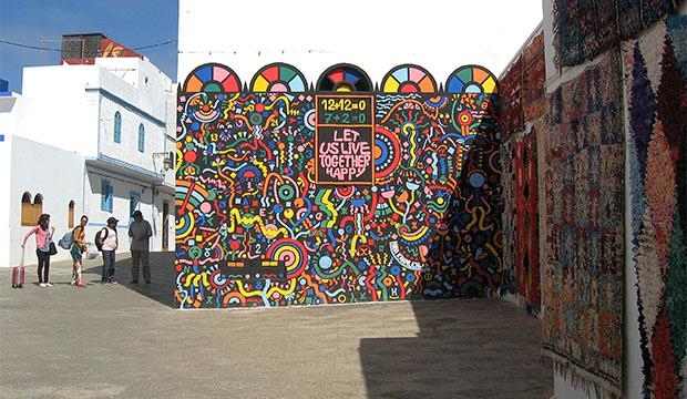 Qué hacer en Asilah. Recorrer su medina y contemplar sus murales
