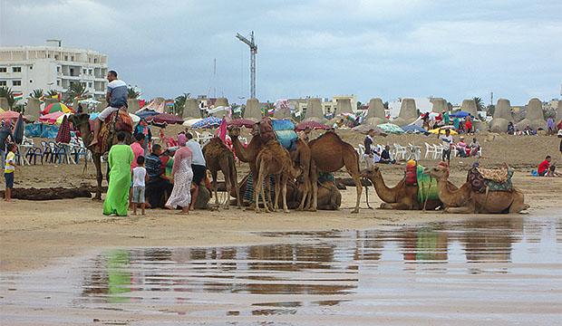 hay que visitar las playas de Asilah si se quiere tener una visión completa de la ciudad