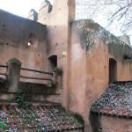 Detalle de las murallas. Alcazaba de Chaouen