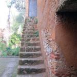Escalera de acceso a la torre. Alcazaba de Chaouen