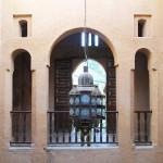 Lámpara colgante en el museo etnográfico. Alcazaba de Chaouen