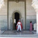 Mausoleo de Mohamed V. Acceso al interior
