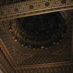 Mausoleo de Mohamed V. Detalle del techo