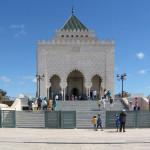 Mausoleo de Mohamed V. Fachada