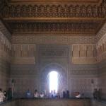 Mausoleo de Mohamed V. Interior