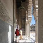 Mausoleo de Mohamed V. Lateral y columnas