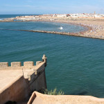 Rabat. Desembocadura del Río Bou Regreg (vista desde la Plataforma del Semáforo)