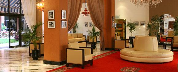 Vestíbulo del Hotel Meriem