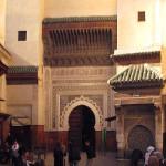 Fez. Plaza Nejjarine