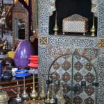 Fez. Tienda de artesanía