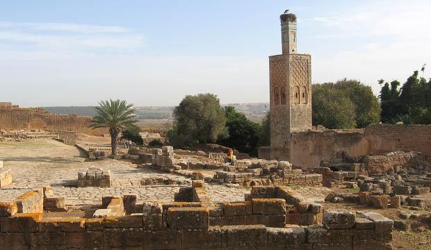 Necrópolis de Chellan en Rabat