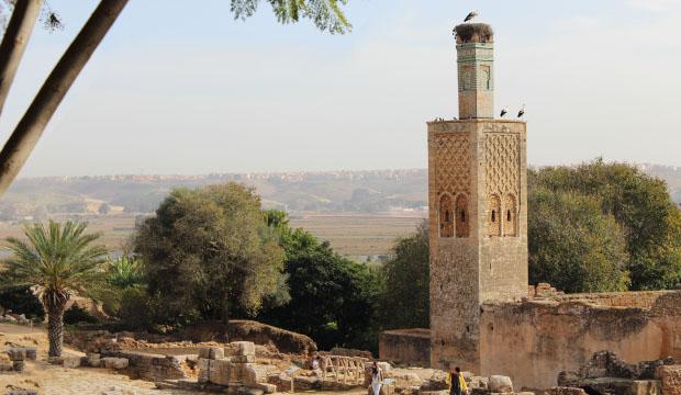 La Necrópolis de Chellah en Rabat