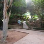 Necrópolis de Chellah. Jardines