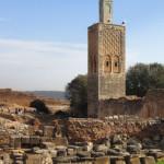 Necrópolis de Chellah. Minarete