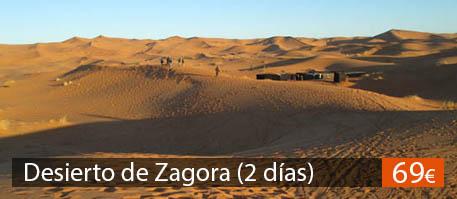 Excursión al desierto de Zagora