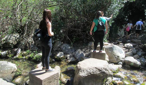 Cruce del río Farda sencillo