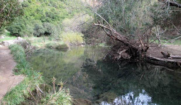 Embalse de agua en Akchour