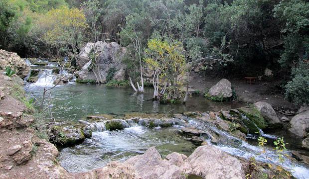 Paisaje bucólico camino a la petit cascade