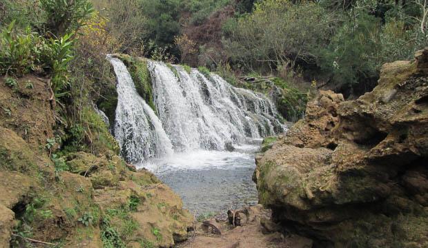 Petit cascade o Pequeña Cascada en Akchour